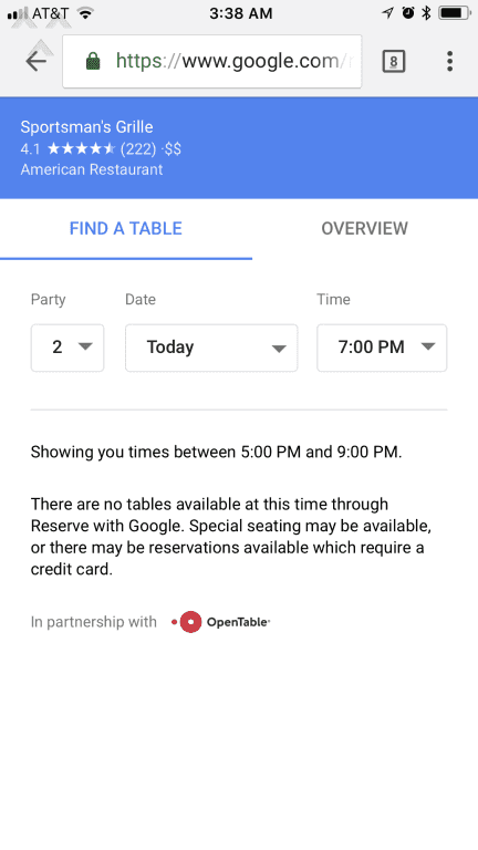 Opentable Extortion Yearlong Battle Just To Cancel What Was - Google open table