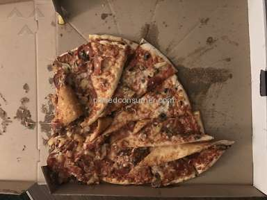 Doordash - Pile of pizza and a waste of $40