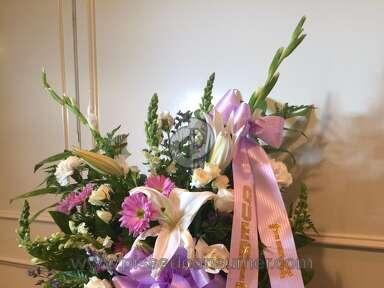 Avasflowers Lavender Sympathy Cross Arrangement review 152946