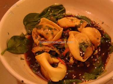 Panera Bread Thai Garden Chicken Wonton Broth review 130079