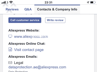Aliexpress Shipping Service review 879532