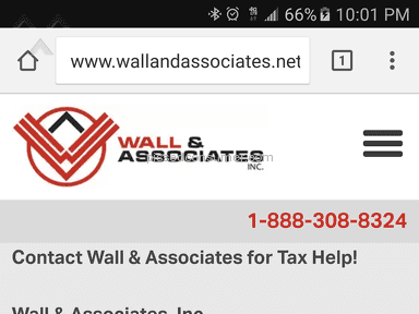 Wall And Associates Tax Resolution review 193954