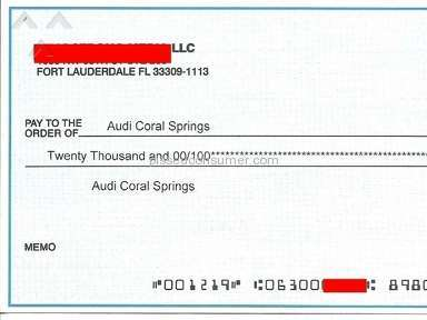 Audi Coral Springs Dealers review 83927