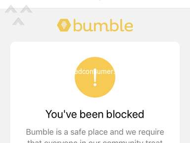 Bumble - Disaster customer service and dating. waste of money