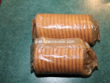 Ritz Crackers - Package size
