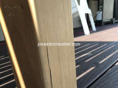 Rc Willey Home Furnishings - Customers Fault Outdoor Table falls apart
