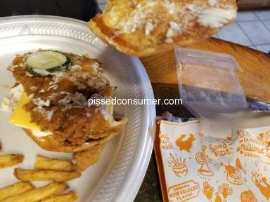 Popeyes Louisiana Kitchen Cajun Surf And Turf Combo Meal review 571911