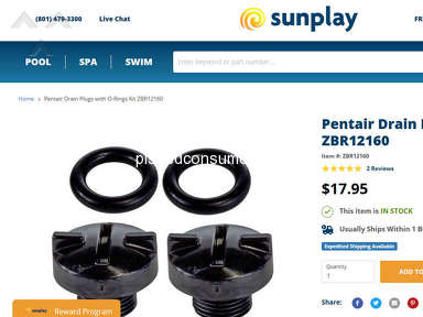 Sunplay - inaccurate information and poor service