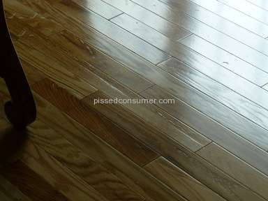 Lumber Liquidators - Floor finish peeling
