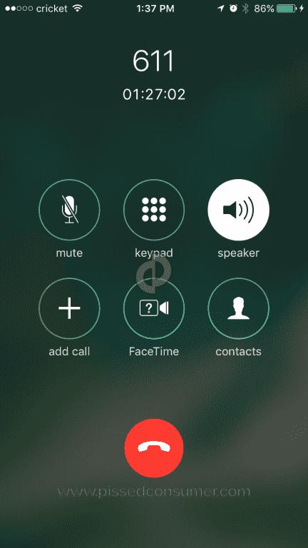 cricket wireless customer service
