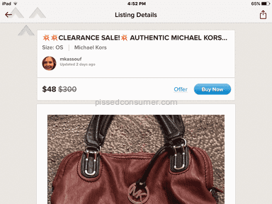 Poshmark Michael Kors Bag review 187390