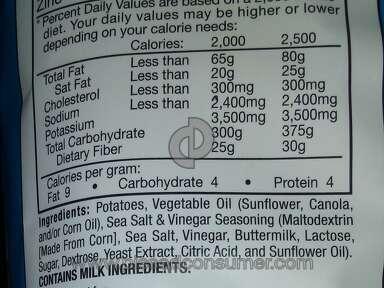 Lays - No salt or vinegar!