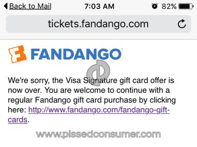 fandango customer service