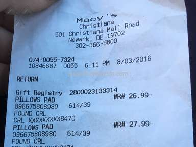 Macys Customer Care review 152336