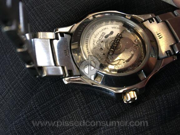 Seiko Coutura Watch