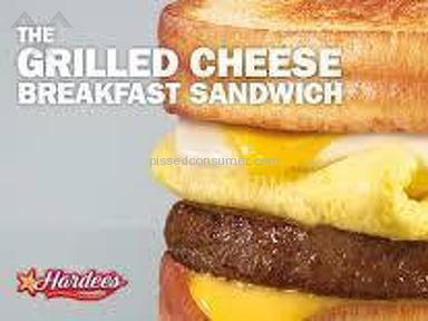 Carls Jr Restaurant - Breakfast Grill Cheese, Lacks!