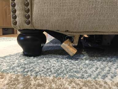 Ashley Furniture Sofa review 130805