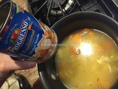 Progresso Traditional Chicken Noodle Soup Review from Brooklyn, New York