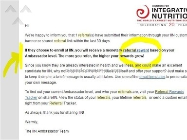 Institute For Integrative Nutrition - What to know before you consider enrolling - Exploited by IIN, Alumni
