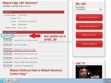 Lbc Express Delivery Service review 7089