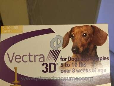 Ceva Animal Health Vectra 3d Flea Control review 137333