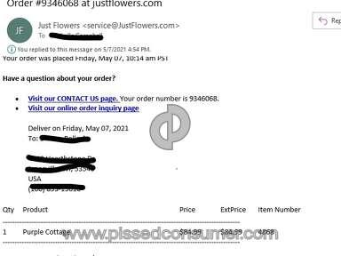 Justflowers Flowers / Florist review 994311
