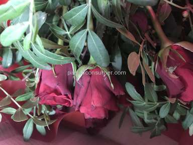 Prestige Flowers - Worst Flowers Ever Received.